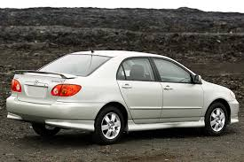 2003 toyota corolla overview cars com