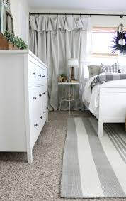 bedroom rug makeover an inspired nest