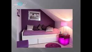 peinture violette chambre photo decoration chambre fille ans idee deco peinture pour dado