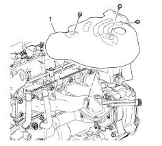 repair instructions off vehicle exhaust manifold removal