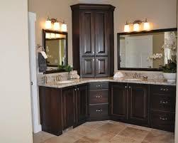 Design For Corner Bathroom Vanities Ideas Brilliant Corner Bathroom Vanity Cabinet Cabinets On Vanities And