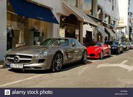 mercedes amg 64 mercedes amg 64 sls parked in the luxury harbour of banus