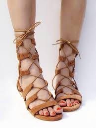 brown gladiator heels is heel