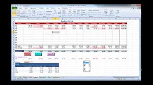 Excel Budget Spreadsheet Excel Budget Template Video 1 Overview Youtube