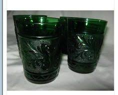 wedding oats wedding oats and forest green glassware set all 5 pieces