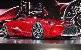 lexus lf lc 2012 detroit lexus lf lc concept motor trend
