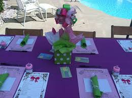 photo princess tiana baby shower decorations image