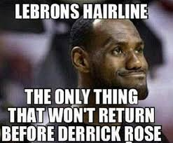 Lebron James Funny Memes - not 1 not 2 not 3 the 50 meanest lebron james hairline