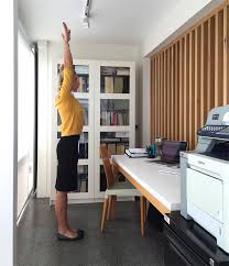 Sit Down Stand Up Desk by 6 Ways To Exercise In The Office Lifestyle Com Au