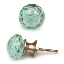 colored glass cabinet knobs green glass cabinet knobs sea glass inspired knob light sea