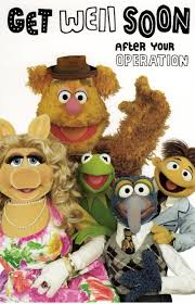 the muppets get well soon after operation card cards kates
