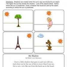 shadows worksheet