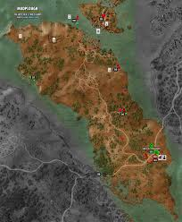 The Witcher 3 World Map by Mudplough Map The Witcher 3 Walkthrough Maps U0026 Game Guide