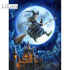 online get cheap witch painting aliexpress com alibaba group