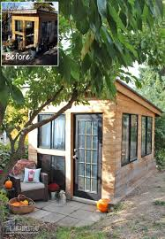 cool shed before u0026 after cool u0026 eclectic garden shed reveal homesteads