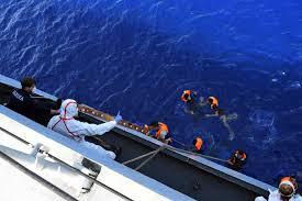 europe keeps its rescue ships far from the coast of libya u2014 where