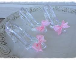 glass slipper party favor birthday party decoration shabby chic banner for birthday