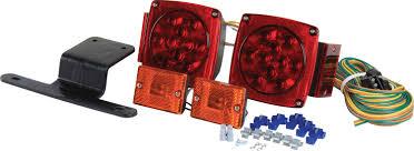 submersible boat trailer lights submersible led trailer light kit princess auto