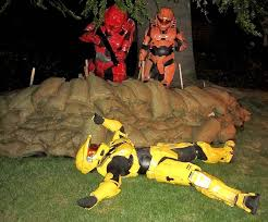 Halo Elite Halloween Costume Brain Leaks Drops Drip Haloween Project