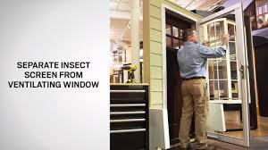 storm door window replacement retractable insect screen replacement on andersen full lite self