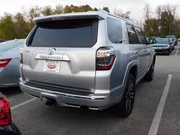toyota 4runner limited 4wd 2018 toyota 4runner limited 4wd at toyota of fayetteville
