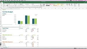 Family Budget Spreadsheet Ms Excel New Template Family Budget Youtube