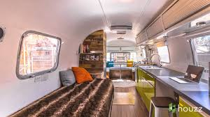 Modern 70 S Home Design by Man Turns U002770s Airstream Into A Cool Happy Home Youtube