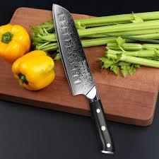 razor sharp kitchen knives sunnecko 3pcs kitchen knife set santoku chef paring knife japanese