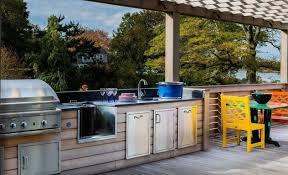 cuisine exterieure en photos cuisine exterieure d ete avec barbecue co idees et cuisine
