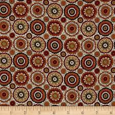isabella u0027s medallion parasol chocolate discount designer fabric