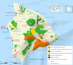 Ou Map File Hawaii Island Protected Areas Map Fr Svg Wikimedia Commons