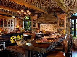 bring out more natural look with rustic kitchen designs nove home