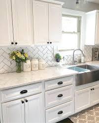 subway tile kitchen backsplashes white tile kitchen backsplash white kitchen kitchen decor subway