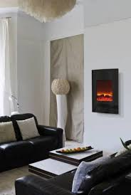 flat and wall mount electric fireplace innovative dining room