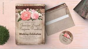 wooden wedding invitations rustic wedding wedding invitations by jinaiji
