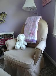 Nursery Chair Slipcovers Cover For Dutailier Glider Slipcover For Glider Rocker Cushions