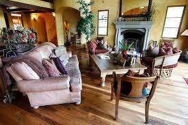 custom made trestleg room table in koa and spanish cedar by