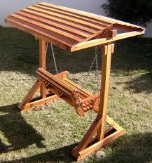 forever redwood garden bench swing set perfect arbors