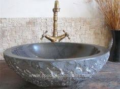 Bathroom Sink Manufacturers - hand chiseled black granite stone basins pedestal wash basin