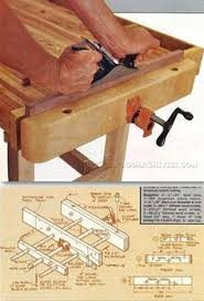 Wooden Bench Vise Plans by Bench Vise Plans Workshop Solutions Projects Tips And Tricks