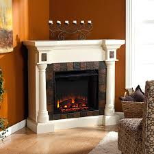 corner electric fireplace design comely storage model new fake