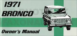 1971 ford bronco econoline and p series wiring diagram original
