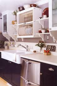kitchen rack designs 65 ideas of using open kitchen wall shelves shelterness