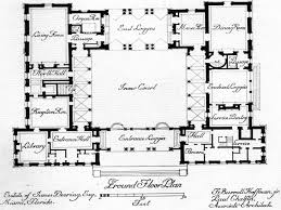 apartments courtyard style house plans ranch style house plans