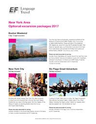 New York To Six Flags New Jersey New York Area Optional Flyer By Ef Education First Issuu