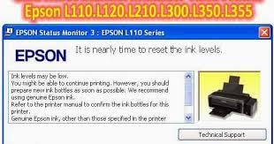 reset printer epson l110 manual pusat modifikasi printer infus cara reset manual indikator tinta