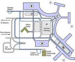 Airport Terminal Floor Plans by Boston Airport Terminal Map