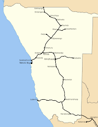 6 Train Map Rail Transport In Namibia Wikipedia
