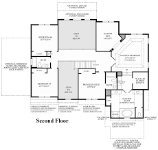 Master Bedroom Above Garage Floor Plans New Britain Woods The Duke Home Design