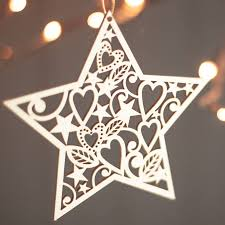 Wooden Christmas Ornaments To Decorate by Charming Fireplace Mantels Diy 19 Laser Cut Wooden Christmas
